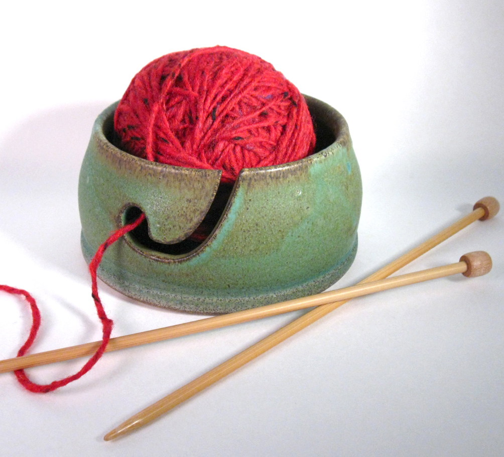 Lichen Yarn Bowl