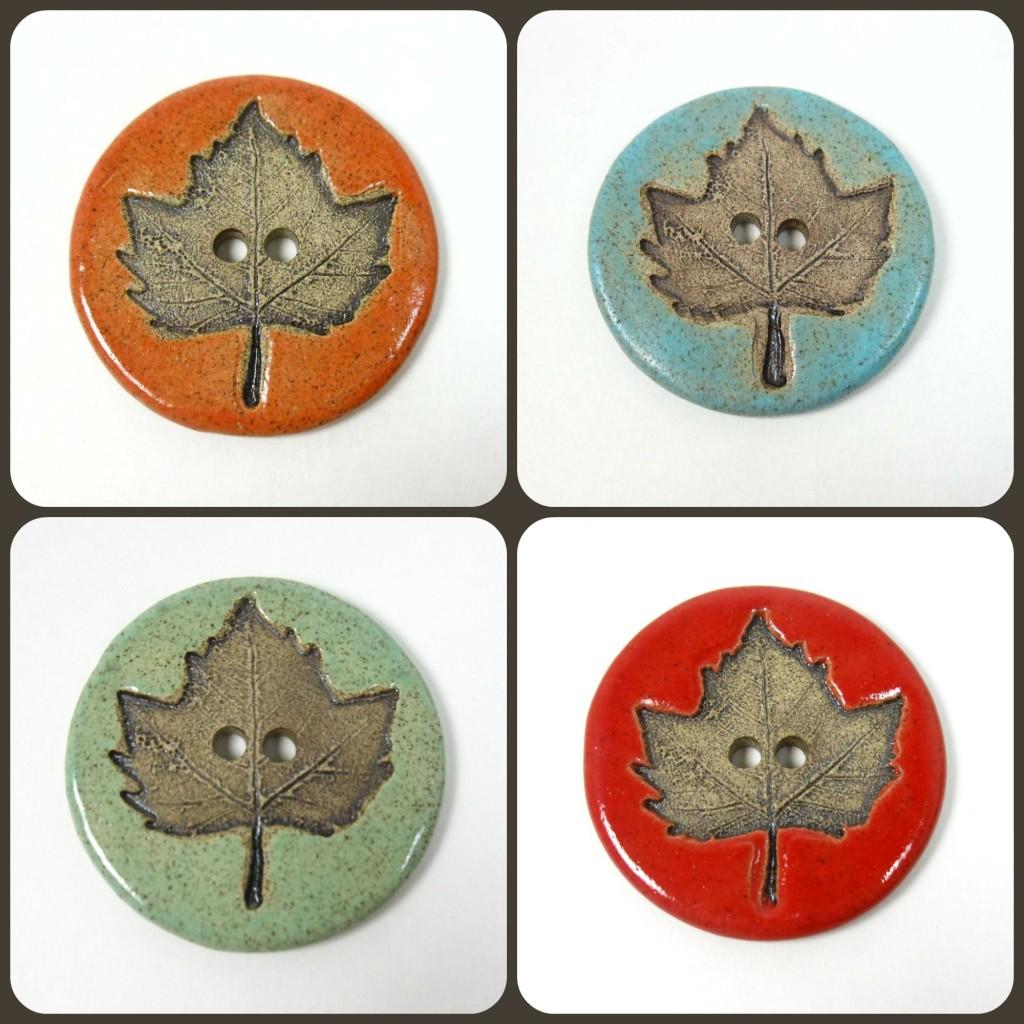 Handmade Buttons - Sharon Ivy