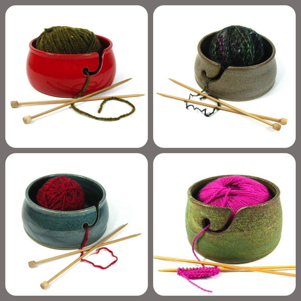 Yarn Bowl Collage