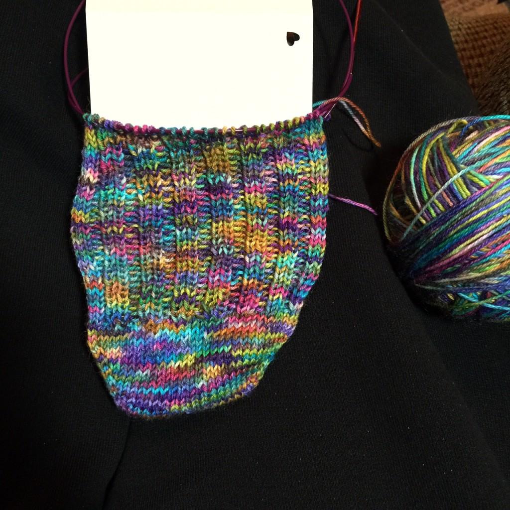 Socks - Gale's Art Yarn (1)